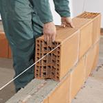 Brique en terre cuite BGV porotherm, briques monomur collées, opti-solution RT2012